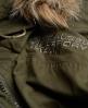 Superdry Hooded Super Wind Parka Coat Green