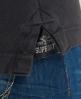 Superdry Polo Vintage Destroyed Noir
