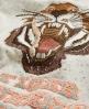 Superdry Tiger Zip Hoodie Cream