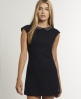 Superdry Hepburn Penny Dress Navy