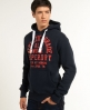 Superdry All Work Hoodie Navy