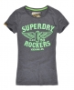 Superdry Rockers T-shirt Navy