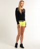 Superdry International Hot Shorts Yellow