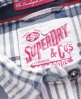 Superdry Patch Pocket Tie Shirt White