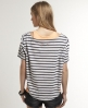 Superdry Nep Stripe T-shirt Ivory