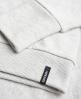 Superdry Appliqué Crew Sweatshirt mit Tasche Grau