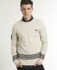 Superdry Captains Crew Cream