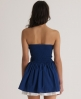 Superdry 50s Colour Dress Blue