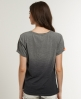 Superdry Slouch Vee T-shirt Dark Grey