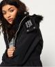 Superdry Veste à capuche en fourrure à doublure sherpa SD-Wind Attacker  Noir