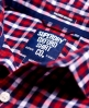 Superdry Tailored Oxford Shirt Red