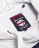 Superdry Vintage Colour Block Hoodie  Navy