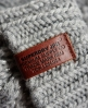 Superdry North Cable Knit Gloves Grey