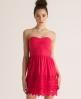 Superdry Broderie Dress Pink