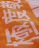Superdry Logo Beach Towel Orange
