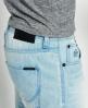 Superdry Officer Slim Denim Shorts Blue