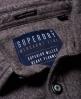 Superdry Langærmet skovmandsskjorte Lysegrå