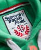 Superdry Athletics Trackster Hoodie Green