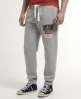 Superdry Applique Slim Joggers Grey