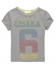 Superdry Osaka 6 Disco T-shirt Grey