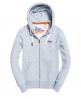 Superdry Sudadera con capucha y cremallera Orange Label Azul