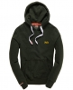 Superdry Orange Label Hoodie Green