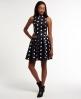 Superdry Premium Scuba Kleid Marineblau