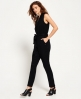 Superdry Savanna Sleeveless Jumpsuit  Black