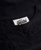 Superdry Folk Patch Shirt Schwarz