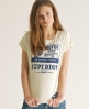 Superdry Bike Sport T-shirt Ivory