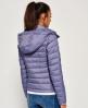 Superdry Veste slim à capuche et double zip Fuji. X Light Blue