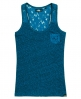 Superdry Super Sewn Rugged Lace Pocket Tanktop Blau