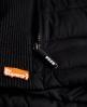 Superdry Fuji Slim Double Zip Vest Black