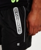 Superdry Sports Active Training Shorts Black