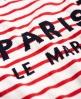 Superdry Le Marais Stripe Knit Jumper Red