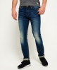 Superdry Slim-jeans Blå