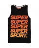 Superdry Hyper Colour Vest Black