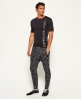 Superdry Schmale Gym Tech Jogginghose Schwarz