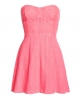 Superdry 90's Lace Dress Pink