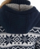 Superdry Premium Knit Jacket Blue
