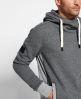 Superdry Surplus Goods Slouch Hoodie  Dark Grey