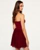 Superdry Rosa 90's Kleid Rot