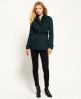 Superdry Trench-coat Winter Belle Vert