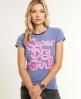 Superdry Girl T-shirt Blue