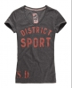 Superdry Old English Vee T-shirt Grey