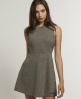Superdry Ernest Dress Brown