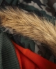 Superdry Polar Fur Windcheater Green