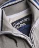 Superdry Tri Tipping Zip Hoodie Grey