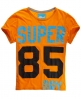 Superdry Cropped T-shirt Orange