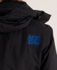 Superdry Hooded Polar Windcheater Black